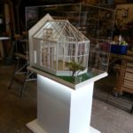 DGCOS This is a model of a real conservatory commissioned by DGCOS for a trade show at Telford Business Centre.