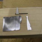 Tee hinges made from sheet metal