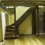 miniature oak staircase