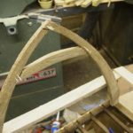 Cruck beam with dowels