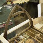 Oak beam oxidising